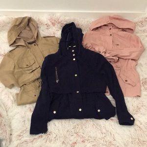 🧥Bundle of gently used light jackets 🧥